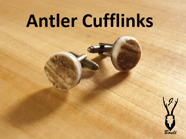 Antler Cuff-links - Jamie Boult Designs